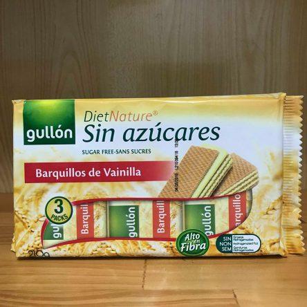 Bánh Xốp Ăn Kiêng Gullon Barquilloss de Vainilla 210g