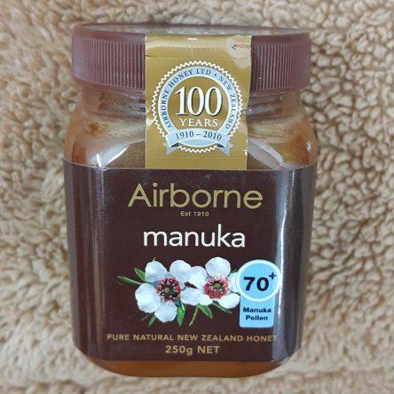 Mật Ong Manuka 70+ Airborne 250g