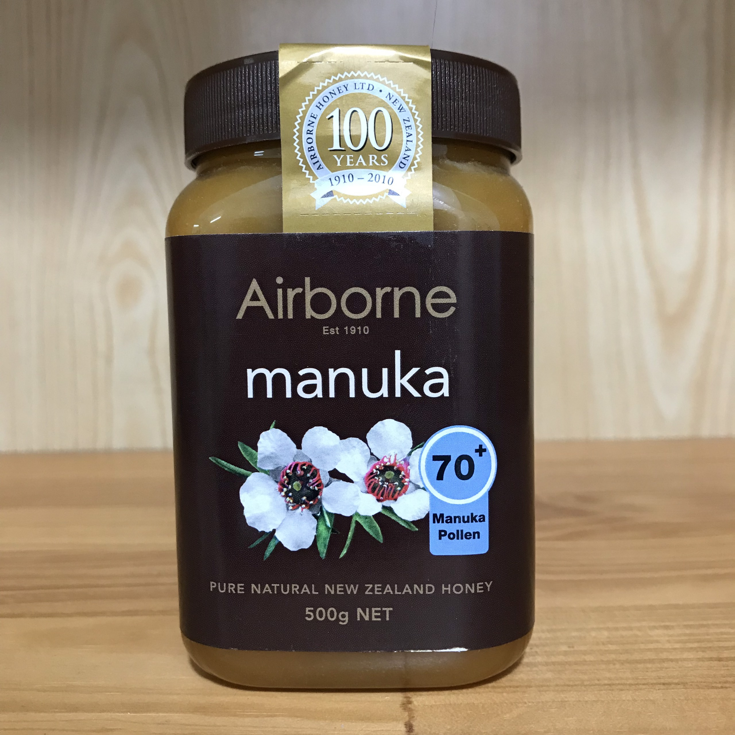 Mật Ong Manuka 70+ Airborne 500g
