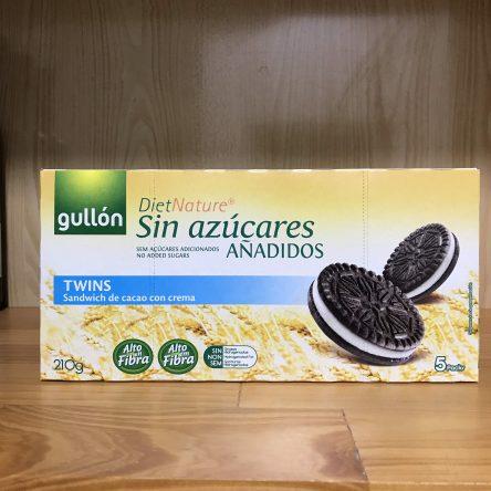 Bánh Ăn Kiêng Gullon DietNature Sin Azucares Sandwich vị Cacao 210g