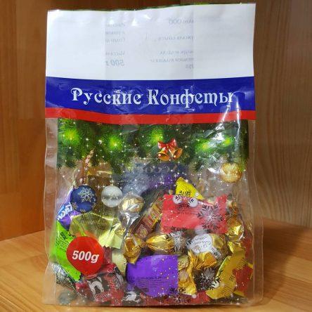 Kẹo Nga Mix 8 vị Socola và trái cây 500g