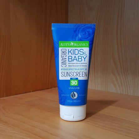 Kem chống nắng hữu cơ cho bé Alteya Organics Kids & Baby SPF30 90ml