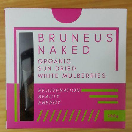 Quả Dâu tằm sấy Hữu Cơ Bruneus Naked Thổ Nhĩ Kì Hộp 200g
