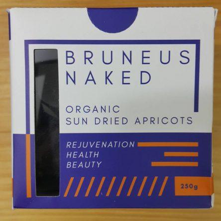 Quả Mơ sấy Hữu Cơ Bruneus Naked Thổ Nhĩ Kì Hộp 250g