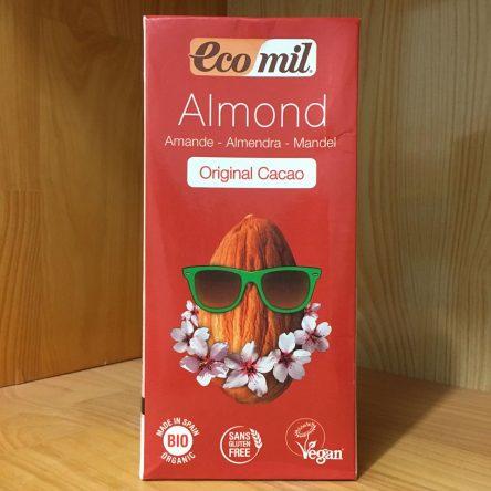 Sữa Hạnh Nhân Hữu Cơ Socola Ecomil 1 lít