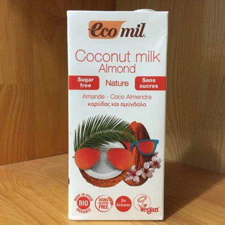 Sữa Dừa, Hạnh Nhân Hữu Cơ Ecomil 1 Lít
