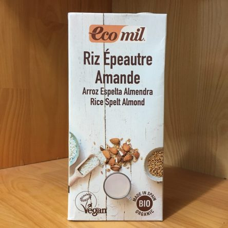 Sữa Gạo Lúa Mì Hạnh Nhân hữu cơ Ecomil 1 Lít