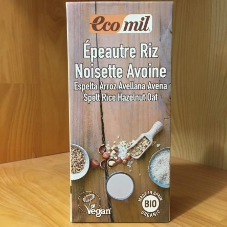 Sữa Lúa mì Gạo Hạt Phỉ Yến mạch hữu cơ Ecomil 1 Lít