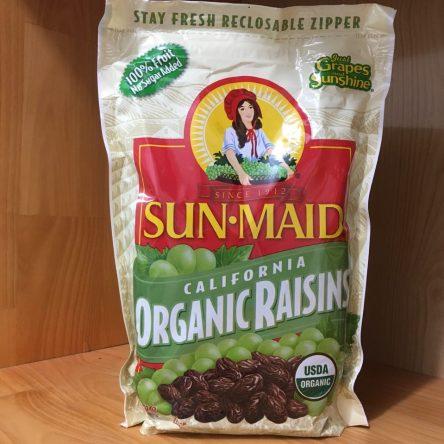 Nho Khô Hữu Cơ Sun Maid Organic 907g Mỹ