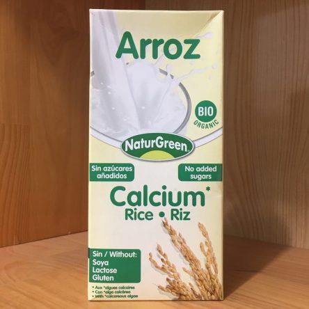 Sữa Gạo Hữu Cơ Arroz hiệu NaturGreen Hộp 1L