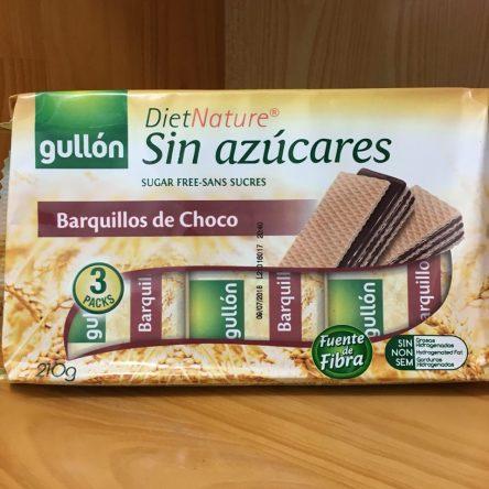 Bánh Xốp Gullon DietNature Sin Azúccares Barquilloss de Vanilla 210g