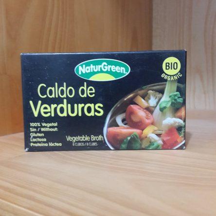 Hạt nêm từ rau củ hữu cơ NaturGreen 84g