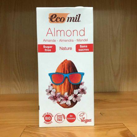 Sữa Hạnh Nhân Ko Đường Organic Eco Mil – Hộp 1L