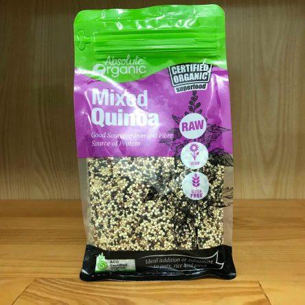 Hạt Diêm Mạch Hỗn Hợp Absolute Organic Mixed Quinoa 400g