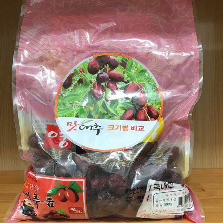 Táo Đỏ Khô Hàn Quốc – Gói 500g