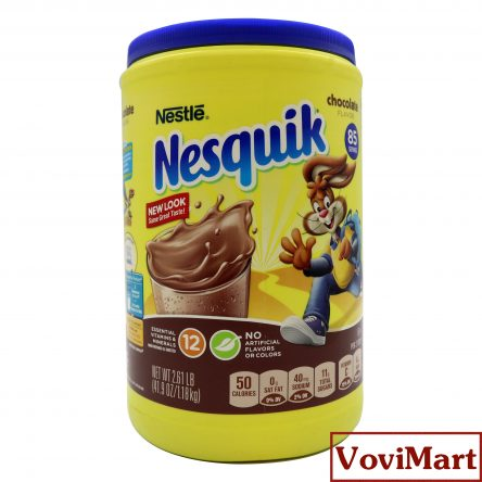 Sữa Bột Nesquik Vị Chocolate U.S.A – 1.18kg