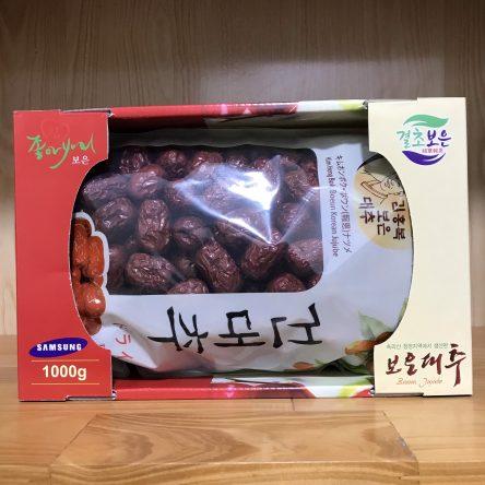 Táo Đỏ Khô Hàn Quốc – Hộp 1Kg ( Phù Hợp Qùa Tặng )
