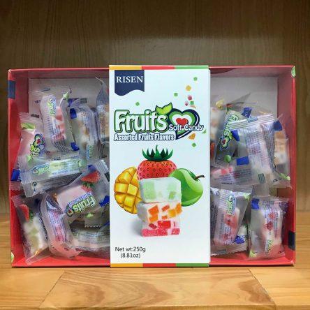 Kẹo dẻo Trái Cây Fruits Soft Candy 250g
