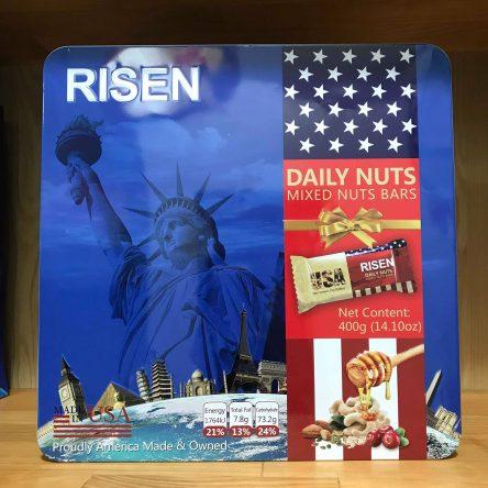Bánh Risen Daily Nutst Mixed USA – Xanh
