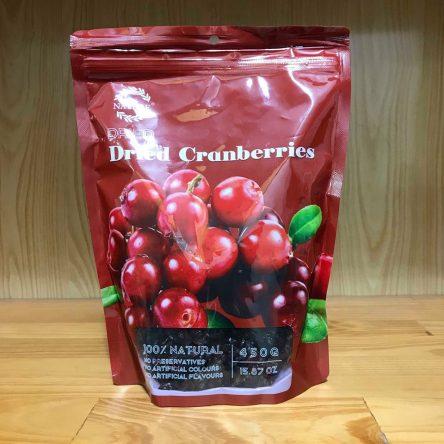 Nam Việt Quất Khô Cranberries Mỹ 450g