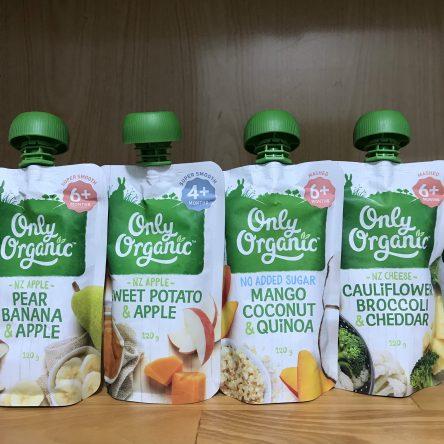 Thức Ăn Trẻ Em Hữu Cơ Onlyo Organic 120g