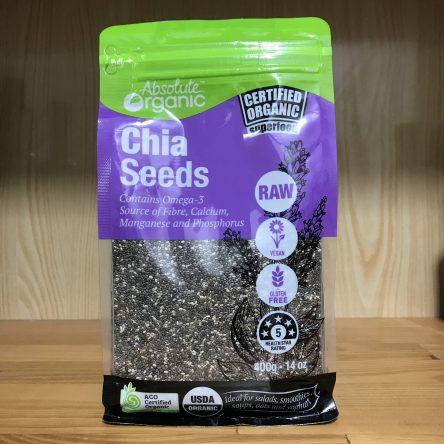 Hạt Chia Absolute Organic Chia Seeds 400g