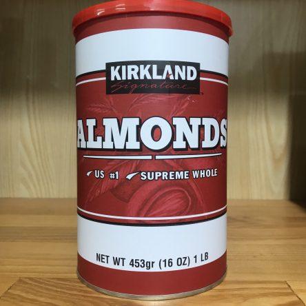 Hạt Hạnh Nhân Kirkland 453g