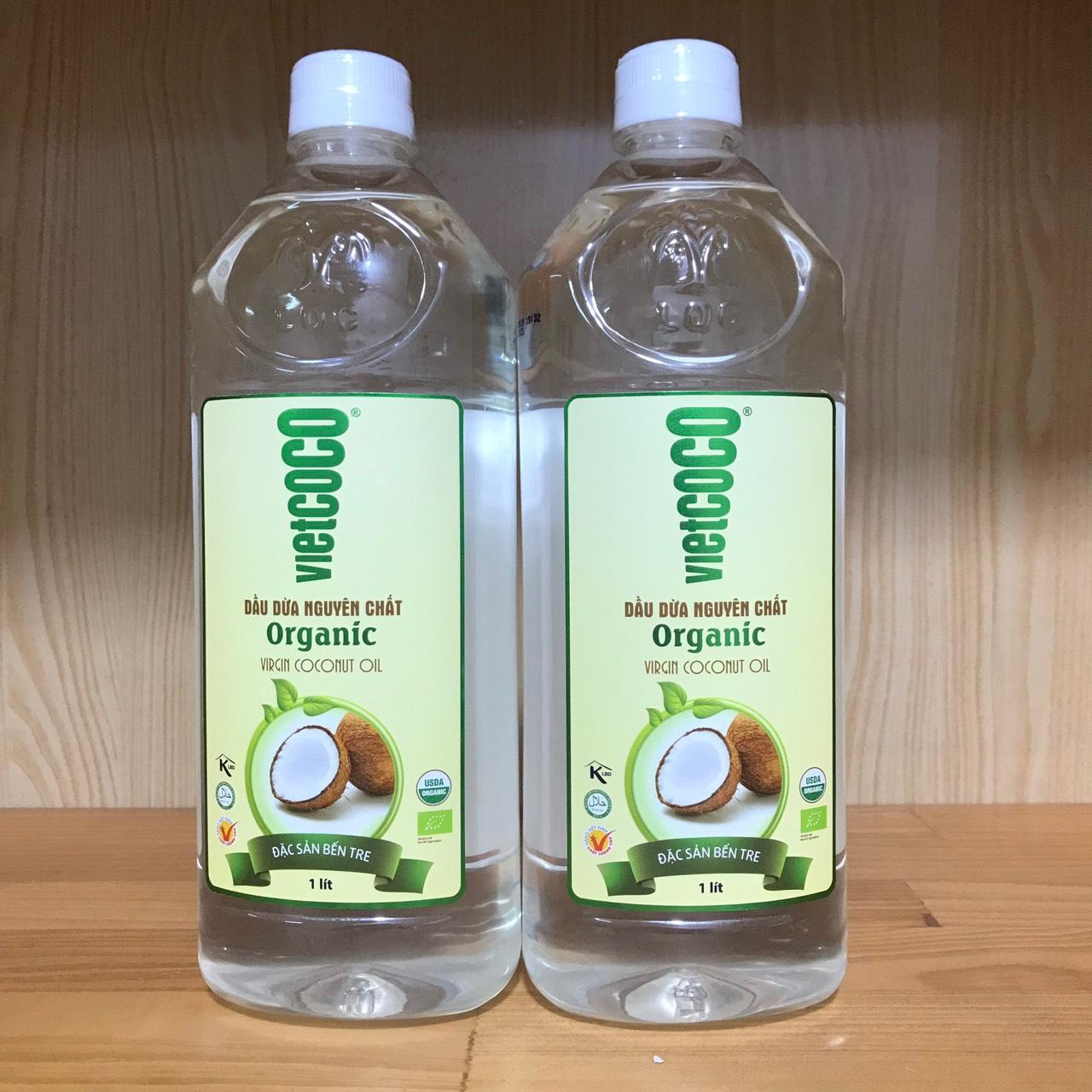 Dầu Dừa Nguyên Chất Organic 1L